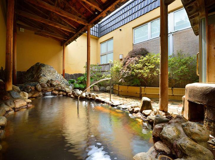 ホテル大平原の露天風呂