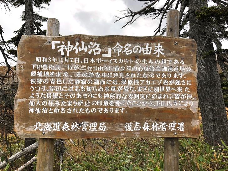 神仙沼の名前の由来