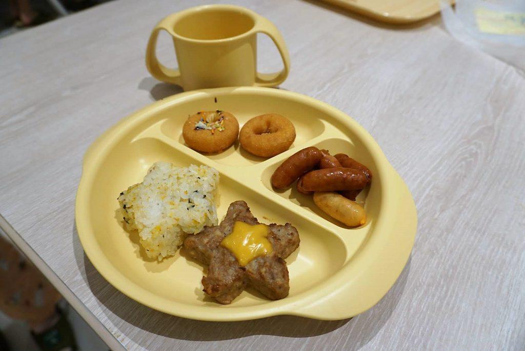 オリジナル朝食プレート