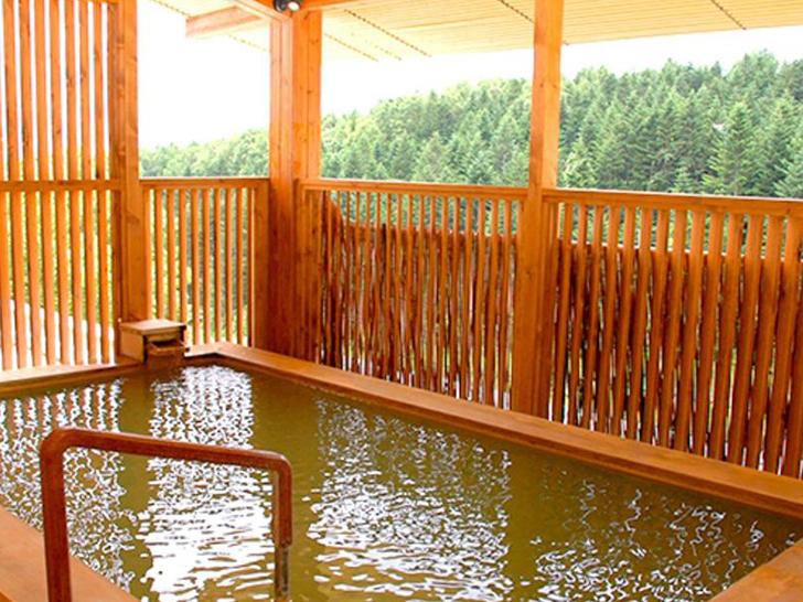 早朝の温泉