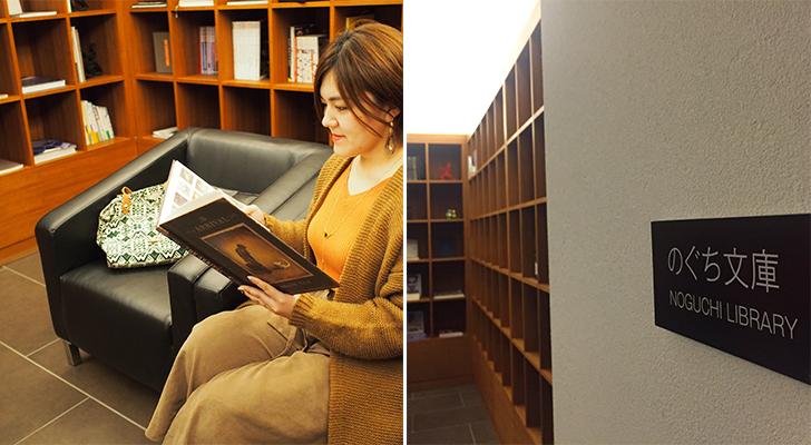 野口文庫で読書