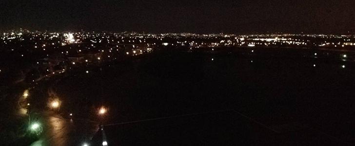 ポールスターから眺める夜景