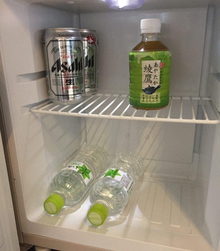 冷蔵庫内のドリンク