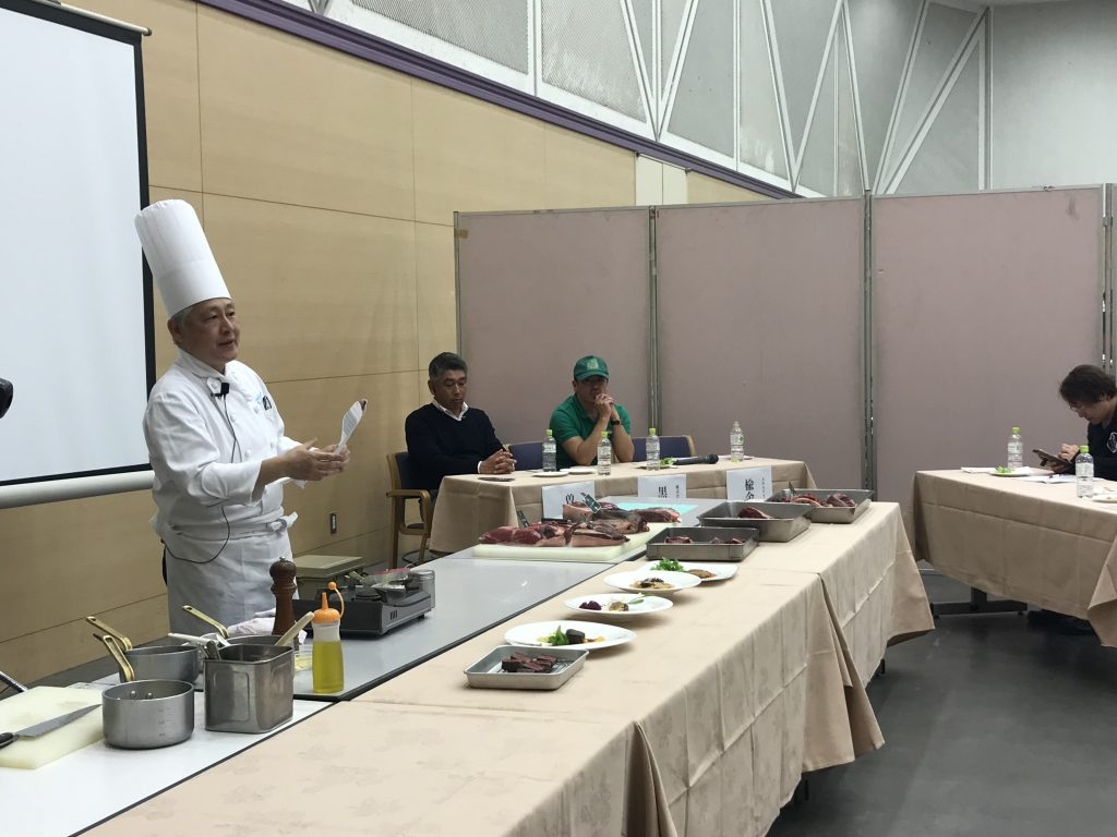 ANA クラウンプラザホテル釧路 総料理長・楡金久幸さん