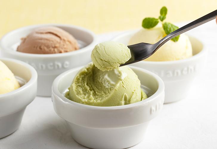 ジェラートタイプのアイスクリーム