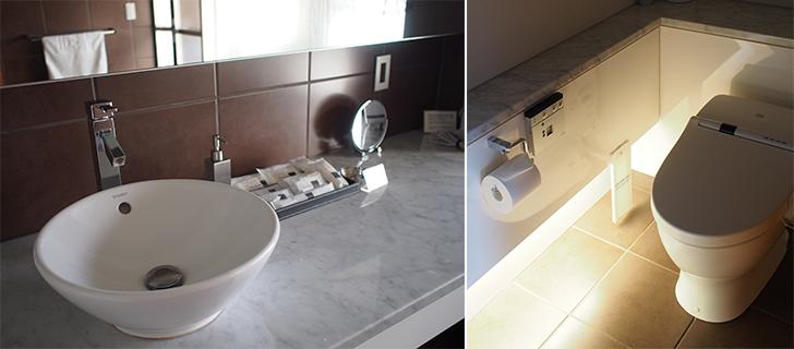 トイレとドレッサー