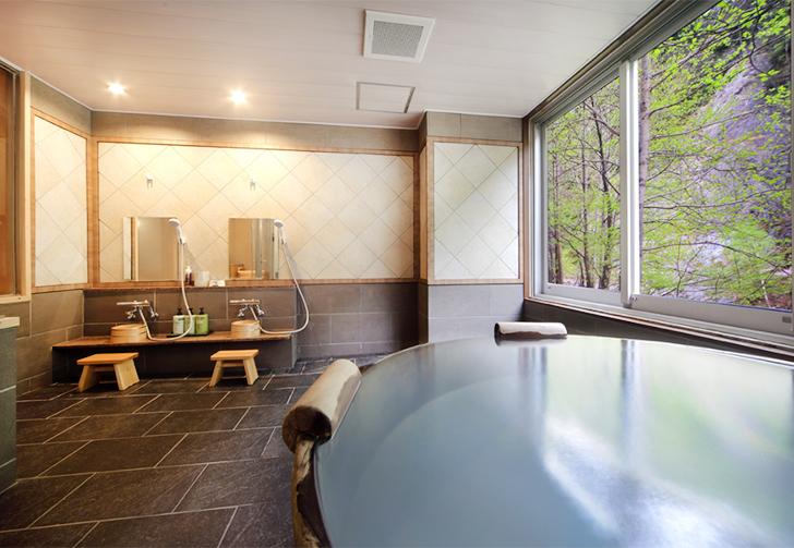 朝陽リゾートの貸切風呂