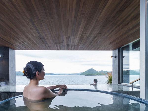 洞爺湖万世閣 ホテルレイクサイドテラスの大浴場