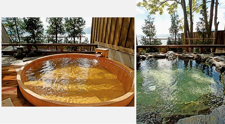 レイクサイドヴィラ翠明閣の貸切風呂