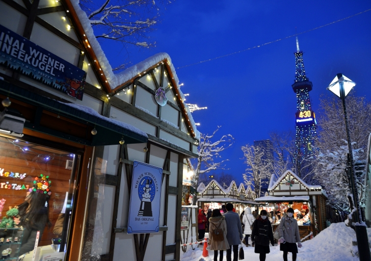 第17回ミュンヘン・クリスマス市 in Sapporoの会場