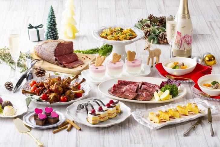 第一滝本館2018クリスマスフェアの特別料理たち