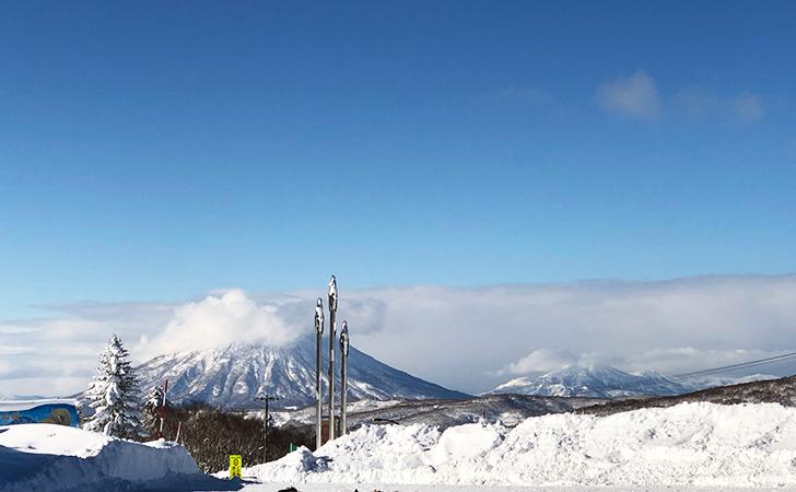 中山峠から見た羊蹄山