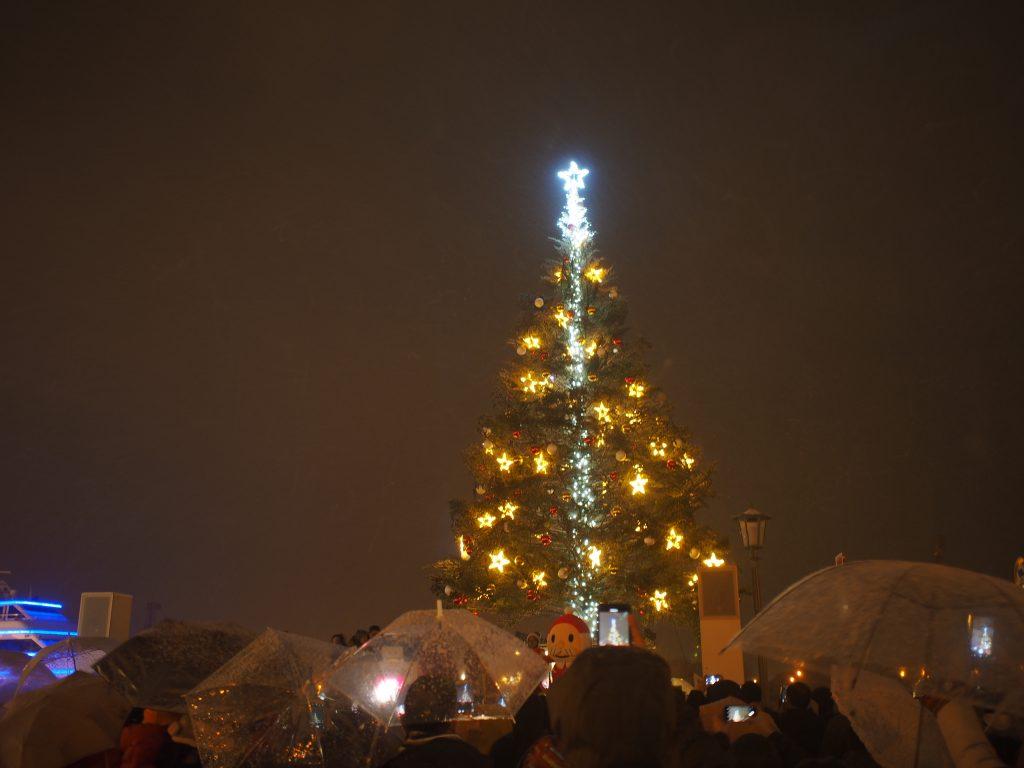 はこだてクリスマスファンタジーの点灯式