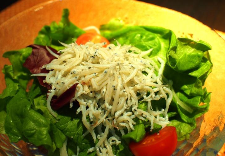 道南野菜のしらすサラダ(和洋共通)