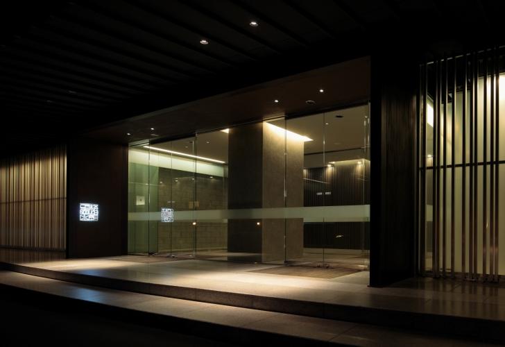 望楼NOGUCHI函館のエントランス。
