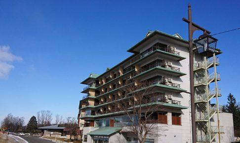十勝川温泉第一ホテル外観 豊洲亭側