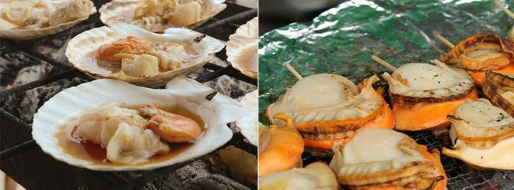 別海町ジャンボホタテ・ホッキ祭り