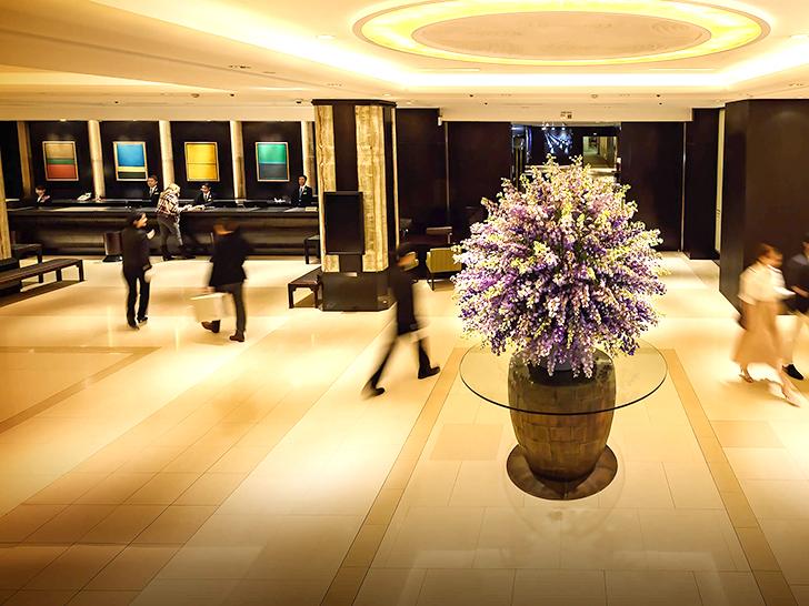 チカホ(地下歩行空間)直結の札幌グランドホテル