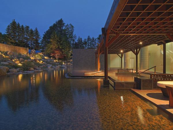 十勝川温泉第一ホテルの露天風呂