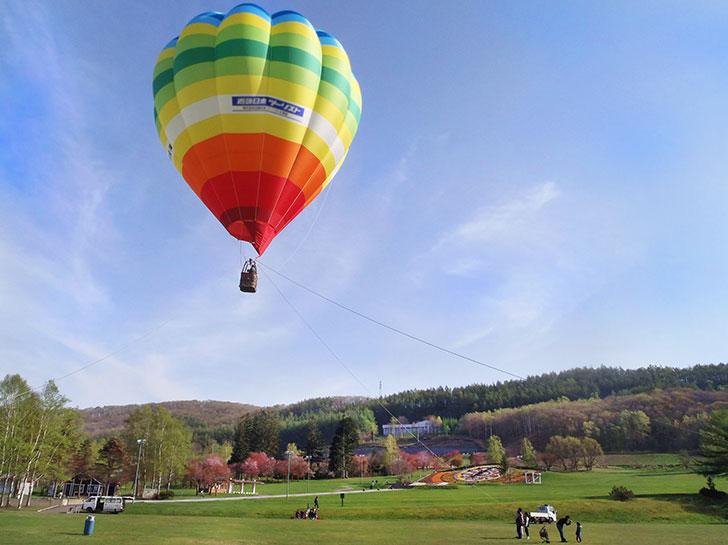 十勝ネイチャーセンターで体験できる熱気球
