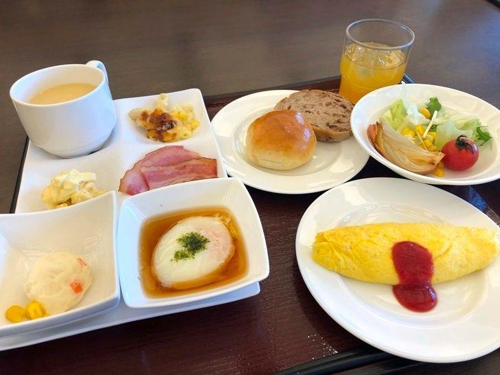 洋食を中心にチョイスした朝ごはん