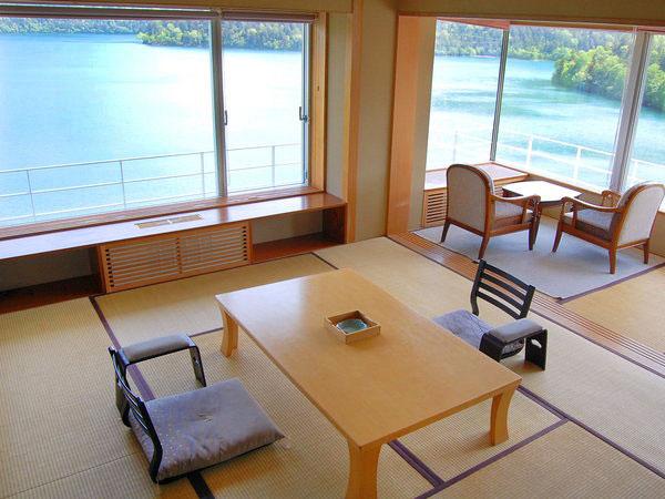 然別湖畔温泉ホテル風水の特別室