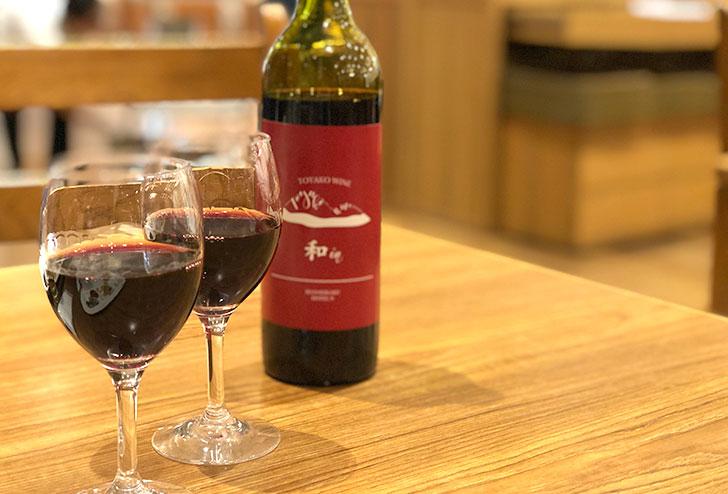万世閣ホテルのオリジナルワイン