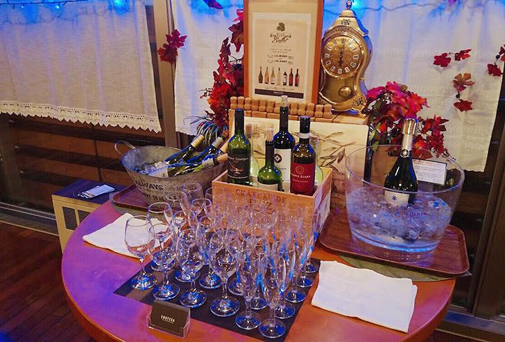 エノテカのセレクトワインを楽しめるワインブッフェ