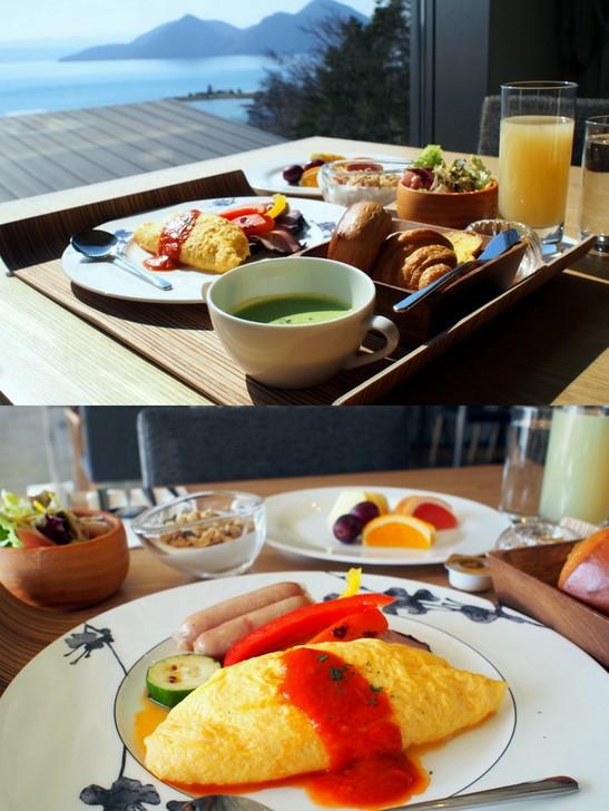 洋食の朝食