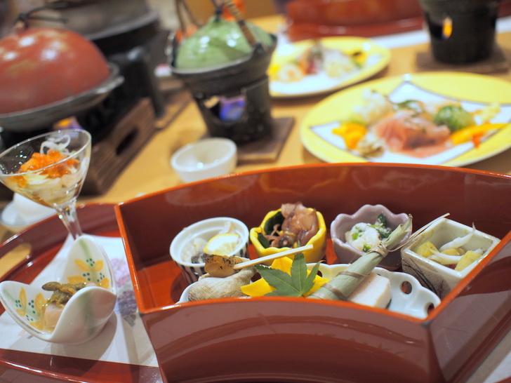 「彩花膳」のコースの前菜