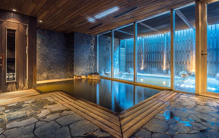 コンドミニアムなのに源泉100%かけ流しの大浴場を備えたザ・ヴェールニセコ