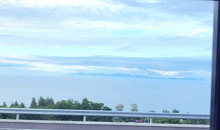 小樽側から望む暑寒別岳