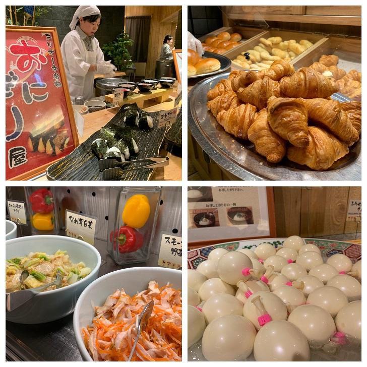 定山渓万世閣ホテルミリオーネ朝食の写真