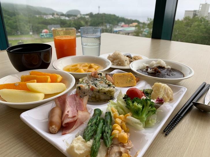知床第一ホテル朝食の写真
