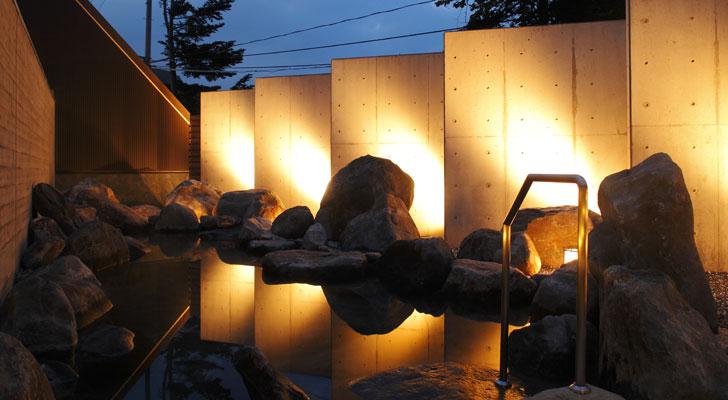 ホロホロ山荘露天風呂