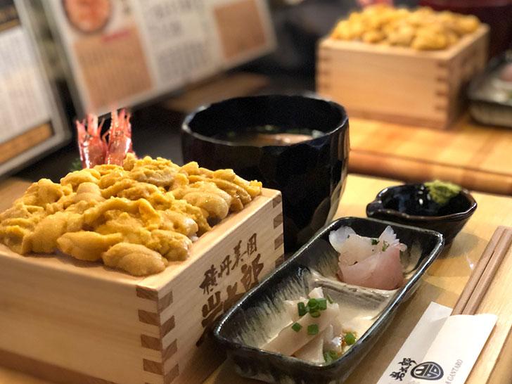 年に一度の贅沢ランチ☆生ウニ丼4000円のイメージ写真です