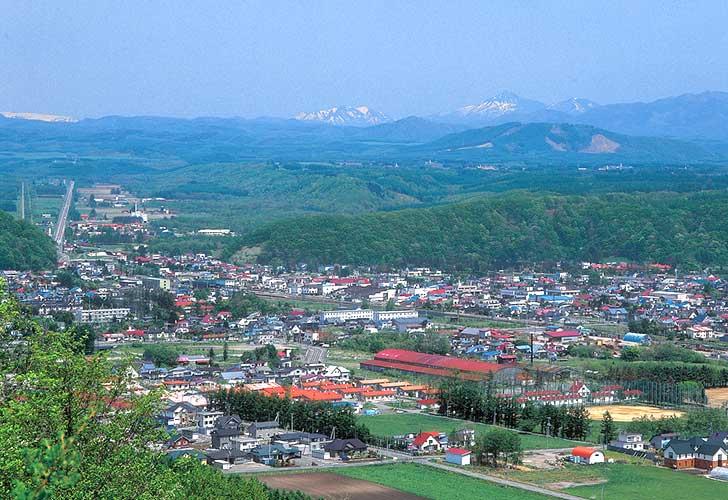 新得町の雄大な風景
