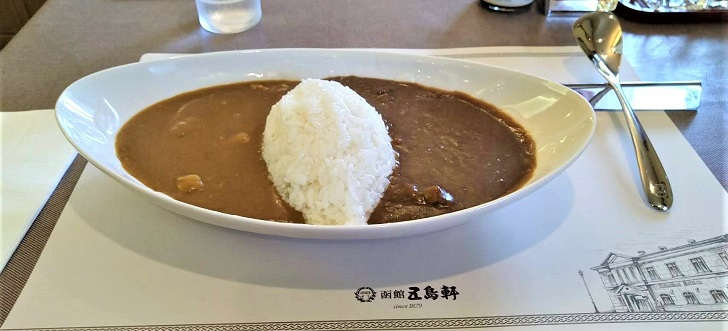 函館 五島軒のあいがけカレー