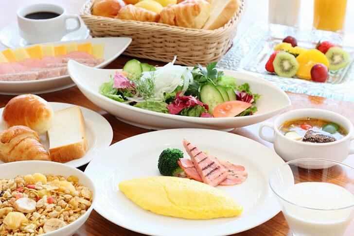 札幌パークホテルの朝食
