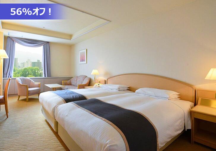 札幌パークホテルの客室一例