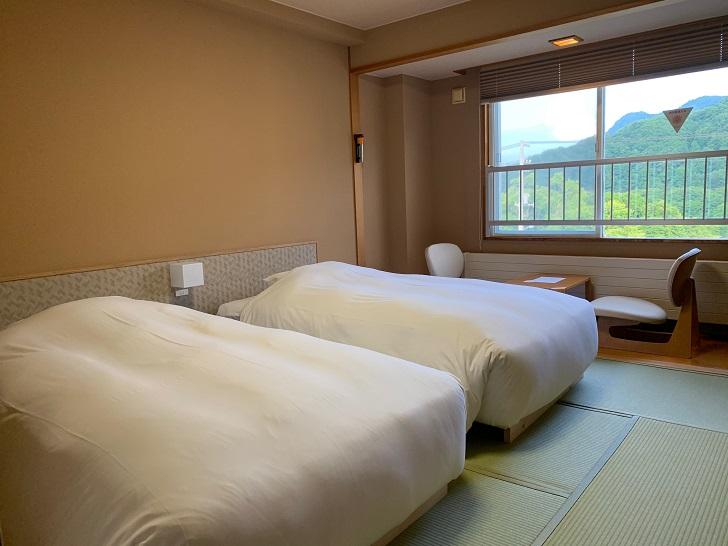 旅籠屋 定山渓商店の客室ツインルームの写真