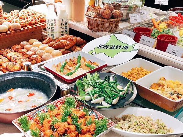 ホテルクラビーサッポロの朝食