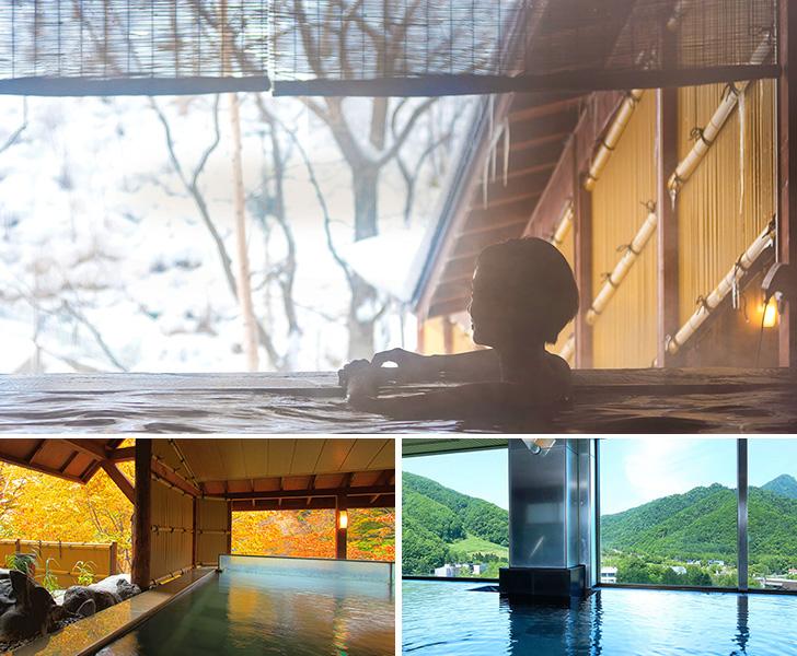 定山渓ビューホテルの温泉