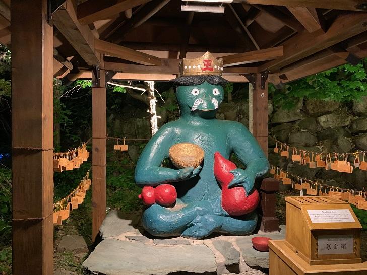 かっぱ大王の像