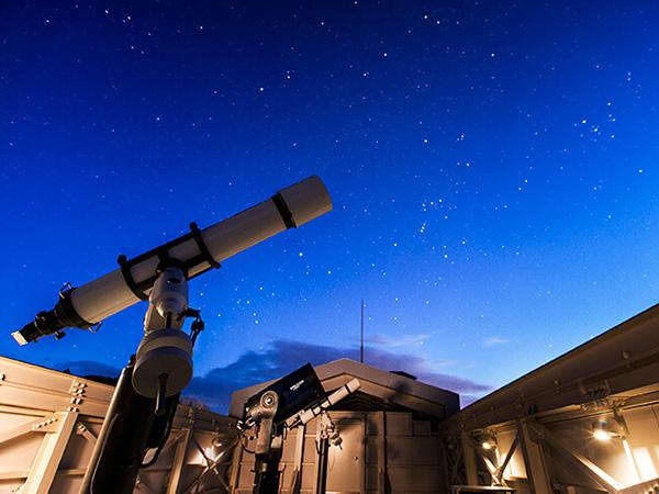 緑の風リゾートの本格的な天文台