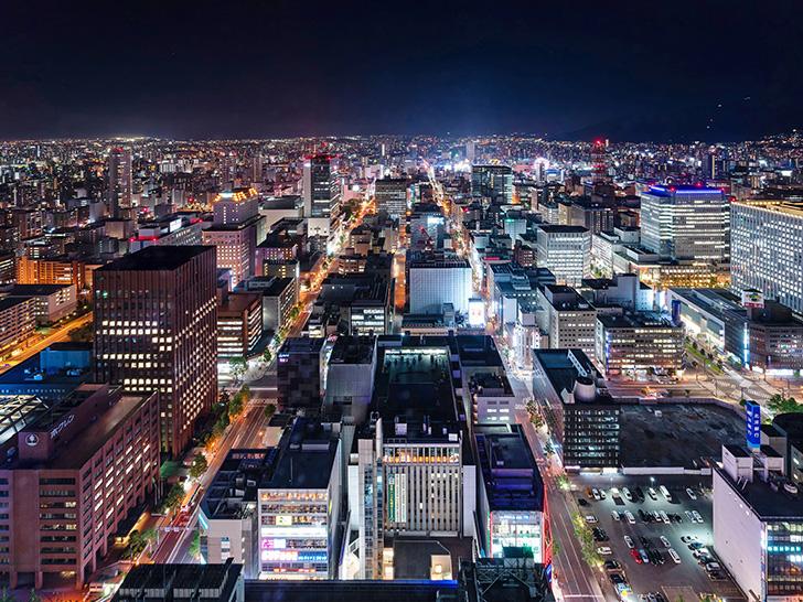 地上38階からの眺望を楽しめるJRタワー展望室T38