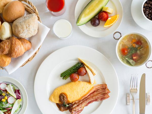 プレミアホテル-TSUBAKI-札幌の朝食