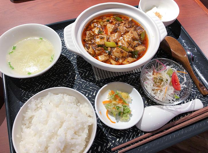 川奈西六厨房のマーボー定食