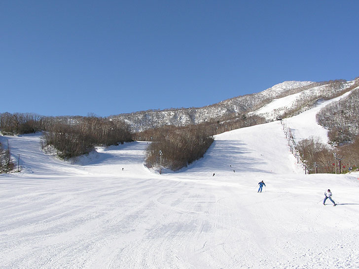 【登別市】カルルス温泉サンライバスキー場