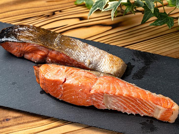 広尾町の宿院のうす塩紅鮭切身
